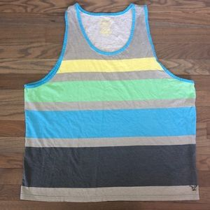 American Eagle Outfitters Shirts - AE Athletic Fit Colorblock Tank Top